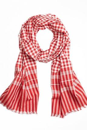 BROOKS BROTHERS Erkek Kırmızı Red Fleece Şal 1-00083401
