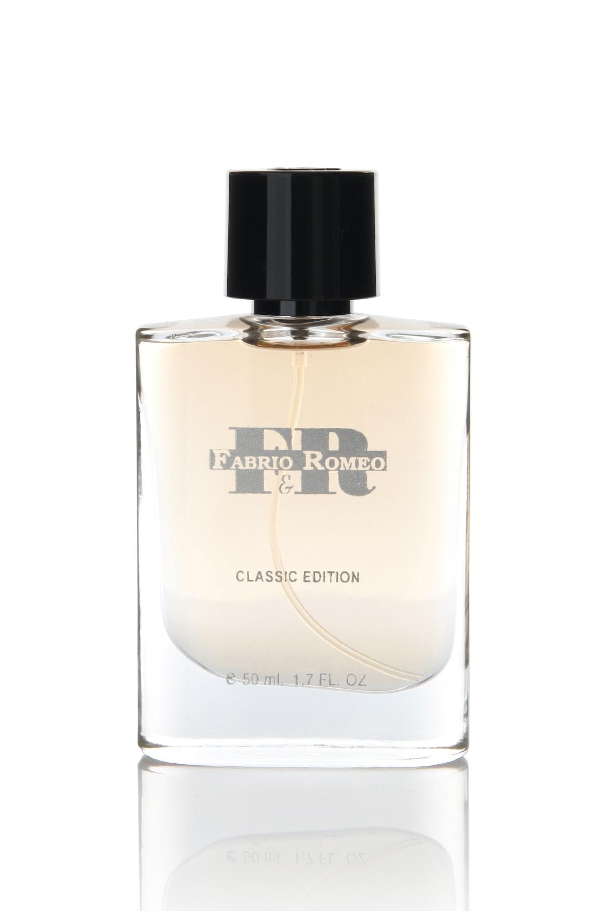 Fabrio & Romeo Classic Edp 50 ml Erkek Parfümü 0868105748771 1