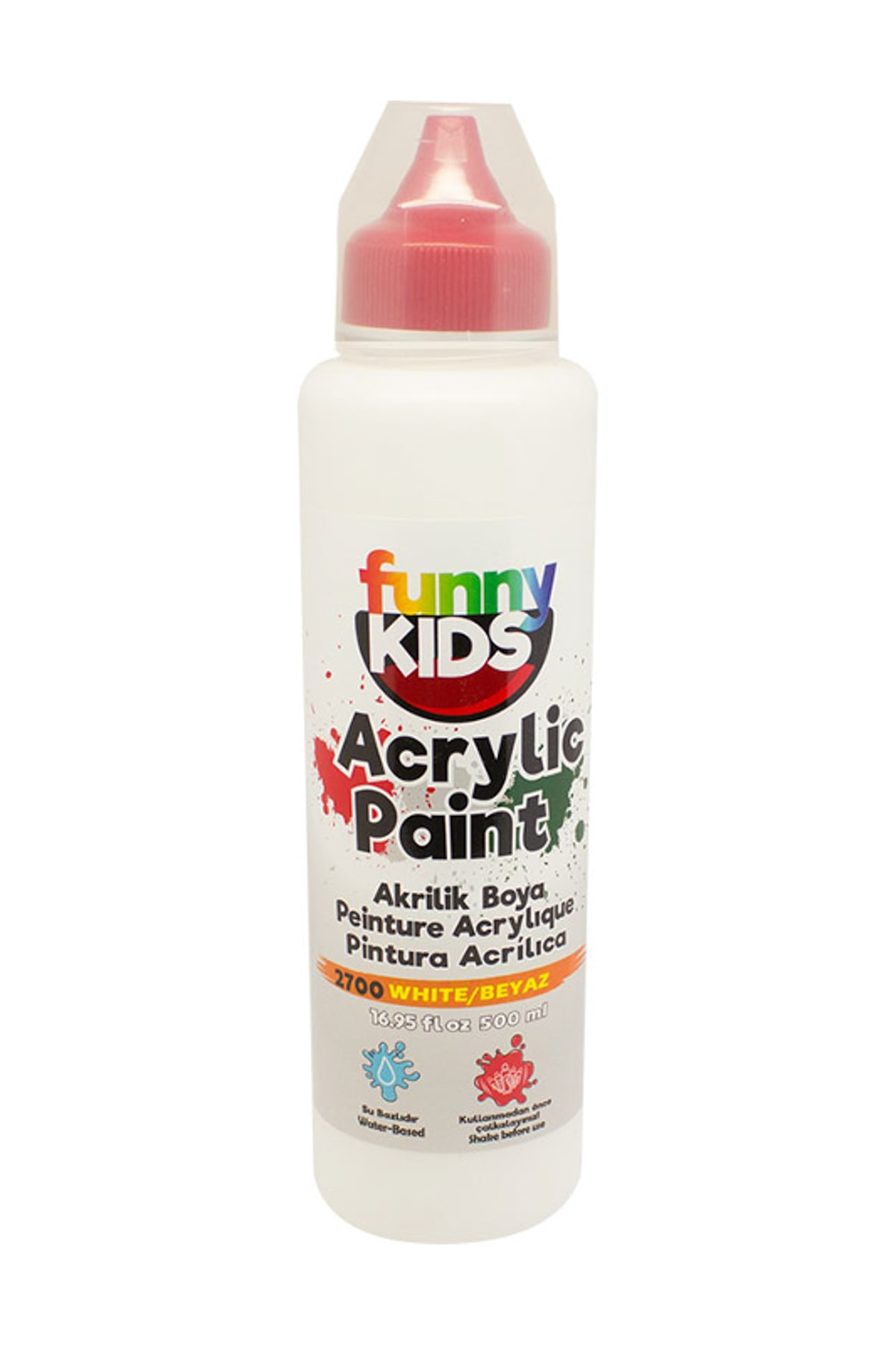 Rich Funny Kids Akrilik Boya 500ml - 2700 Beyaz 1