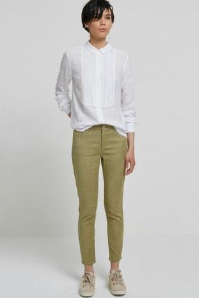 Yargıcı Kadın Açık Yeşil Beş Cep Pantolon 9KKPN3122X