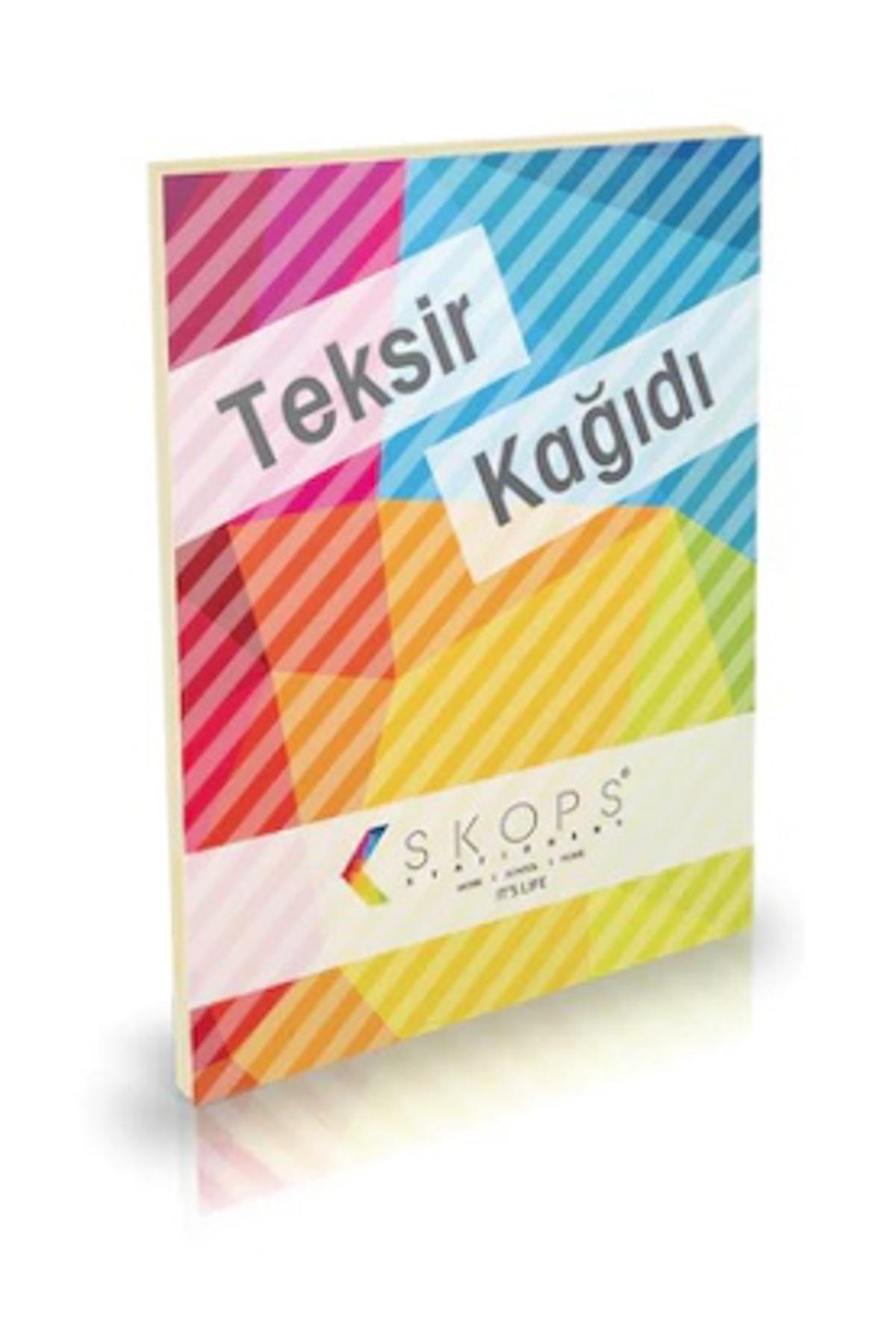 Hobi24 Yayınları Teksir Kağıdı 20x28cm 52 Gram - 200 Yaprak 1