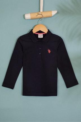 U.S. Polo Assn. Lacivert Kız Çocuk Sweatshirt