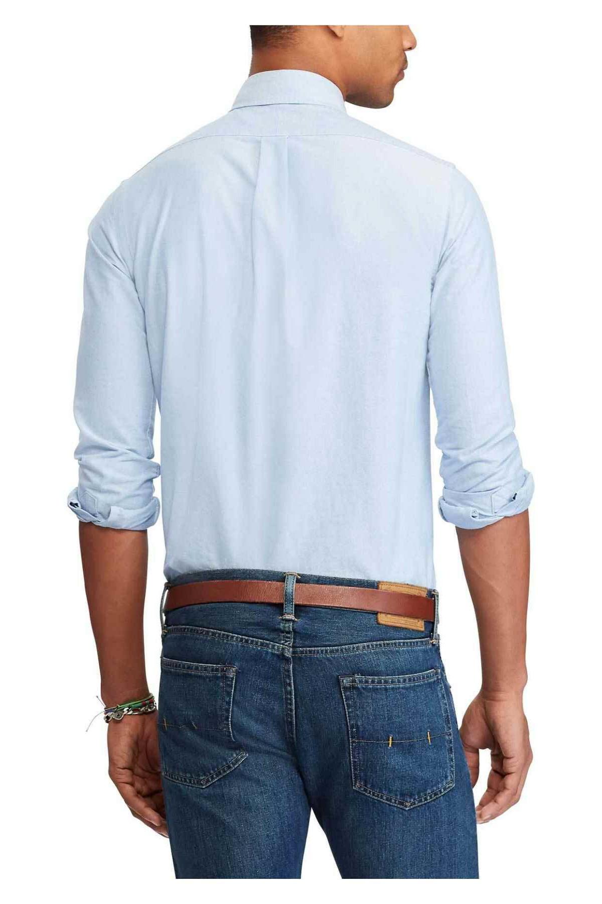 Polo Ralph Lauren Erkek Mavi Gömlek 3830056747060 2