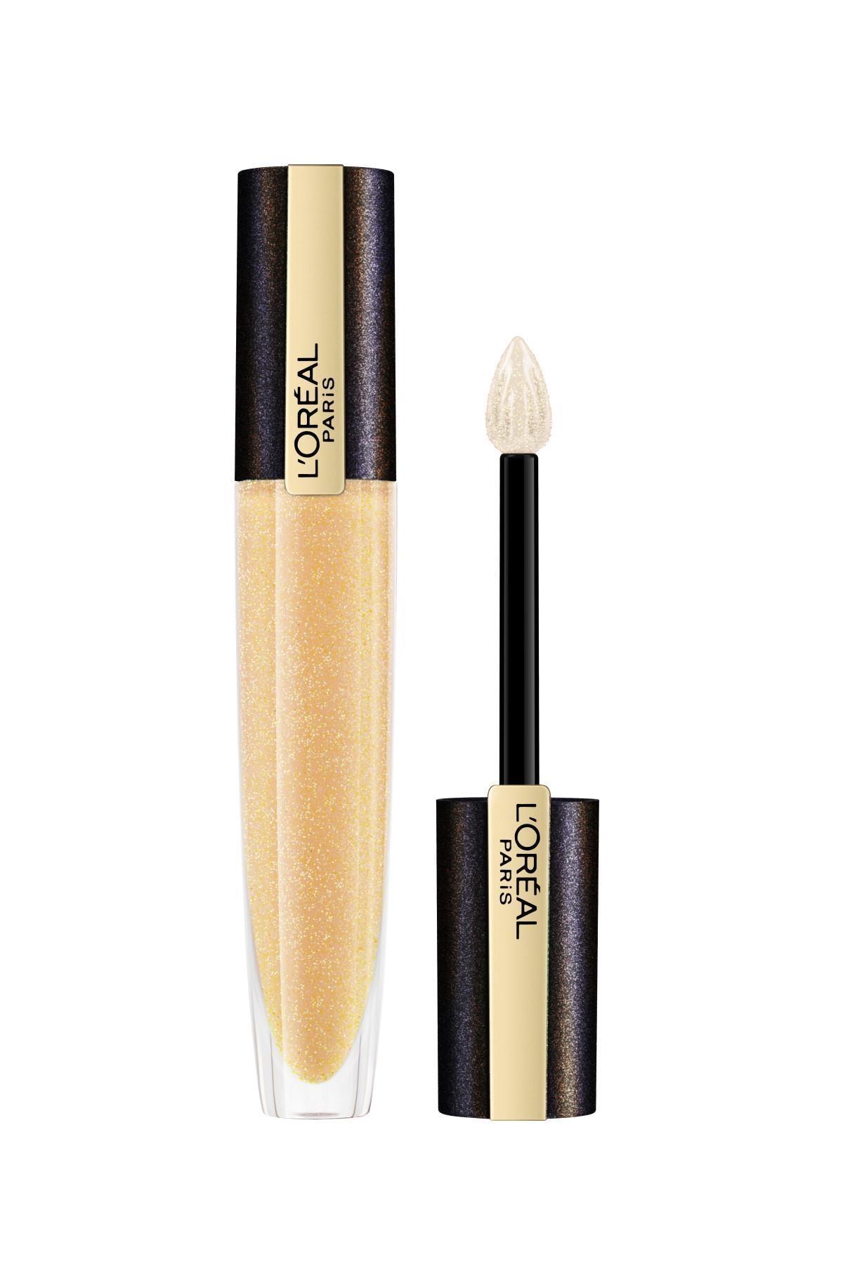 L'Oreal Paris Parlatıcı Ruj - Rouge Signature Lip Topper 212 Pure Gold 3600523690701