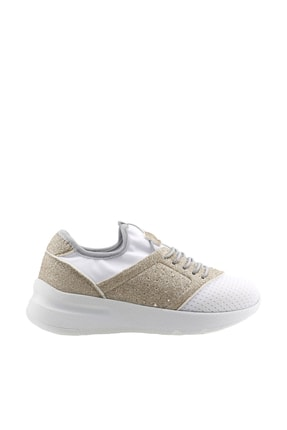 Vicco Kız Çocuk Altın Beyaz Sneaker 19YAYVİC0000012