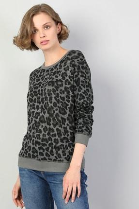 Colin's Antrasit Kadın Tshirt U.kol CL1045076