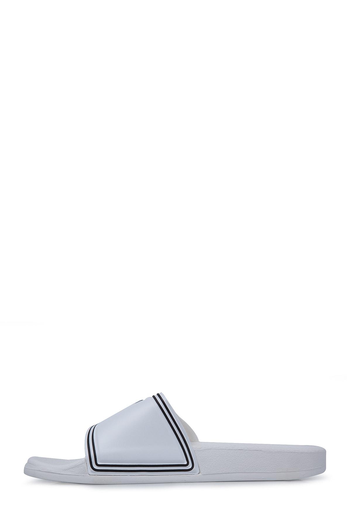 Emporio Armani Beyaz Kadın Terlik S X3P706 XD184 00230 1