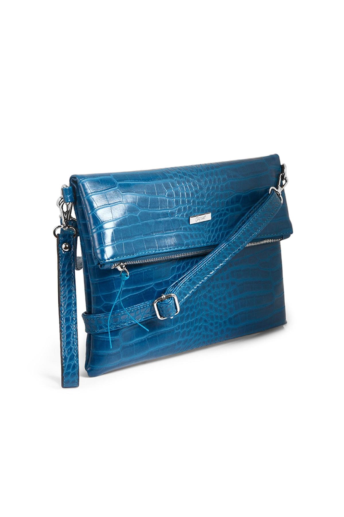 Coquet Accessories Kadın Koyu mavi Black Clutch 19G3U13N355 2