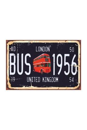 Hayat Poster Londra Tabela Tarz Retro Vintage Ahşap Poster 2030042