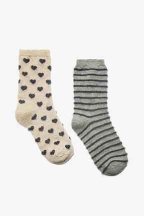 Koton Kadın Ekru Çorap 0KAK81254AA