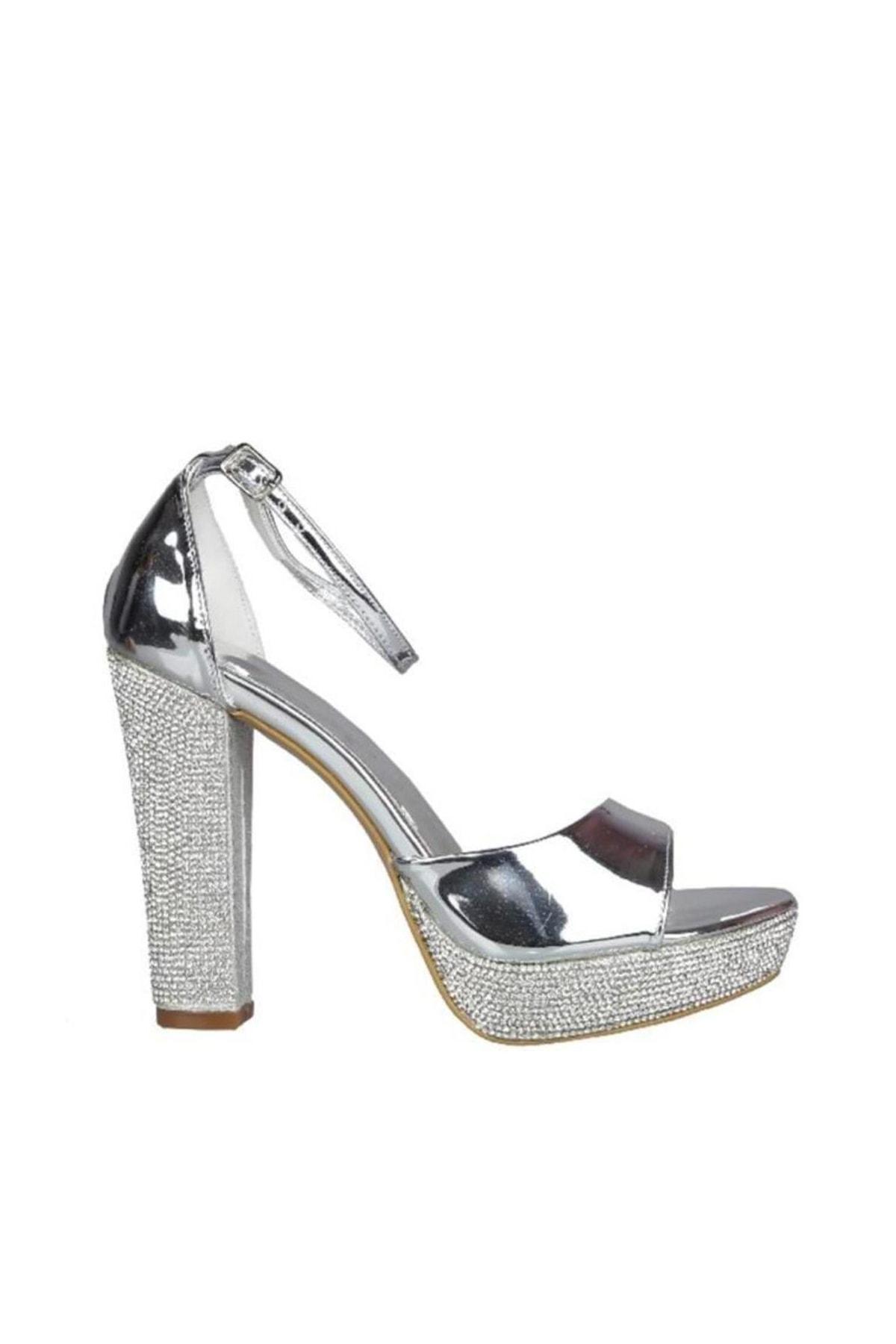 PUNTO Gumus Kadın Klasik Ayakkabı 19Y423B0032-46 1