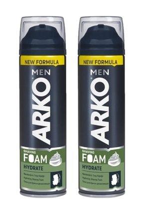 ARKO Men Tıraş Köpüğü Hydrate 200 ml 2 li Ekonomik Paket