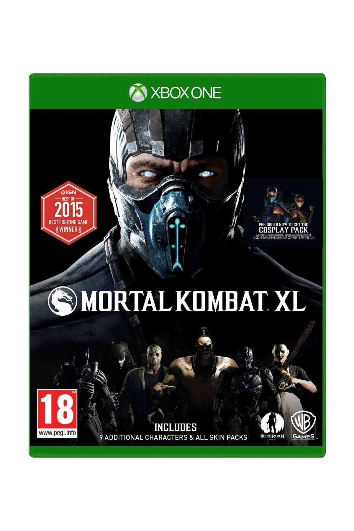 Warner Bros Mortal Kombat XL Xbox One Oyun 1