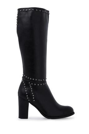 Pierre Cardin Siyah Kadın Çizme