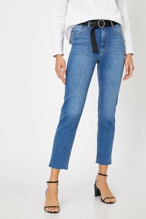 Koton Kadın Mavi Pantolon 0KAK47292MD
