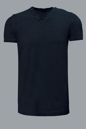 Lufian Erkek Geras Basic T- Shirt Siyah 111020008100100