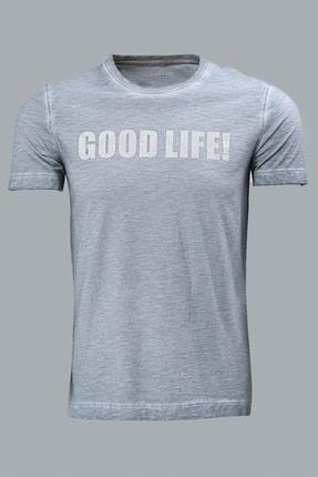 Lufian Erkek Ganges Vintage T- Shirt Petrol 111020007100280