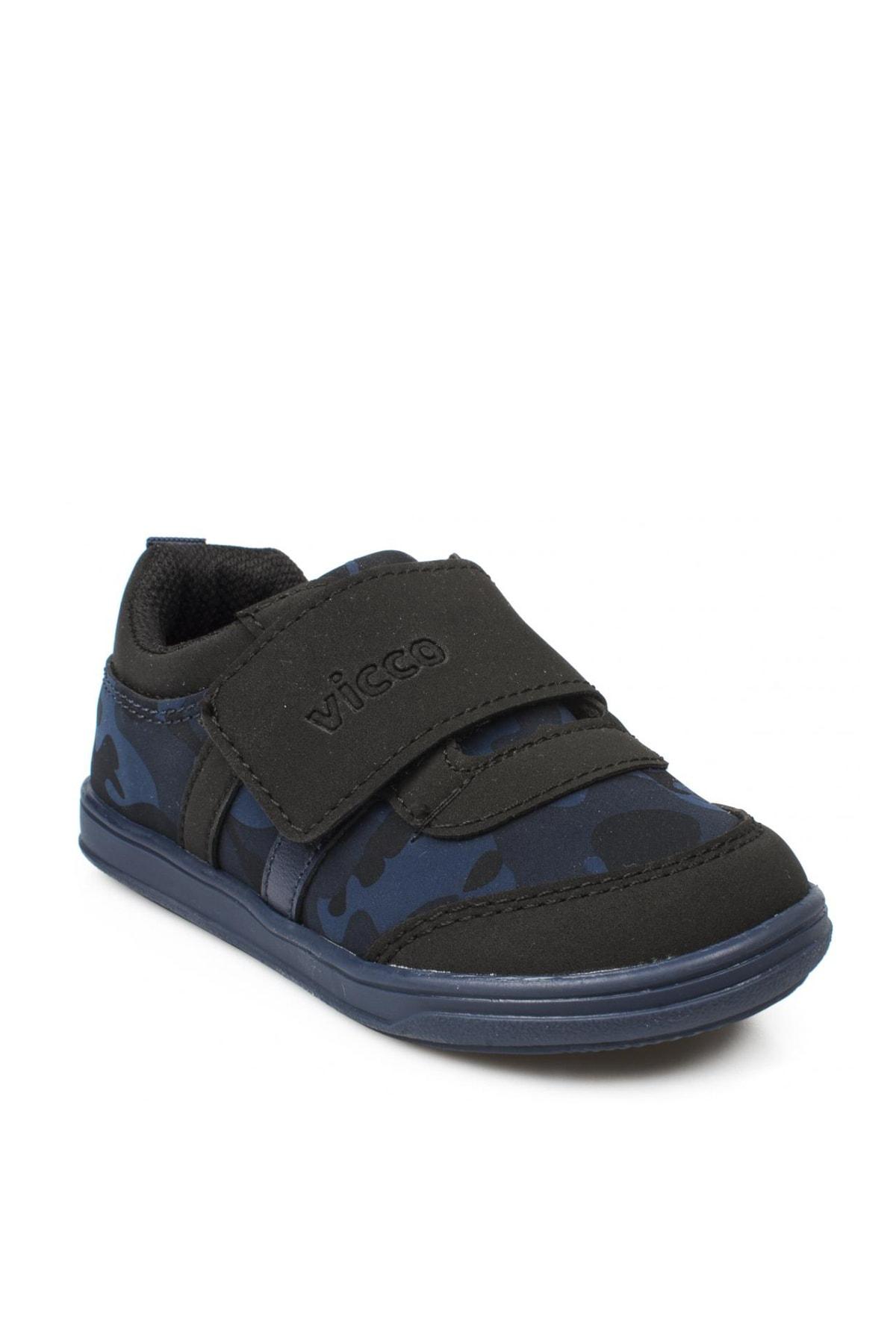 Vicco Lacivert Kız Bebek Yürüyüş Ayakkabısı 211 950.E19K223 1