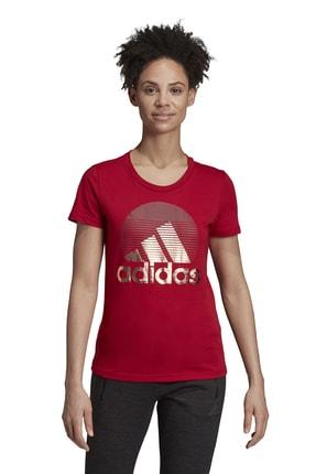 adidas Kadın T-shirt - W Mh Foil Tee - ED6172