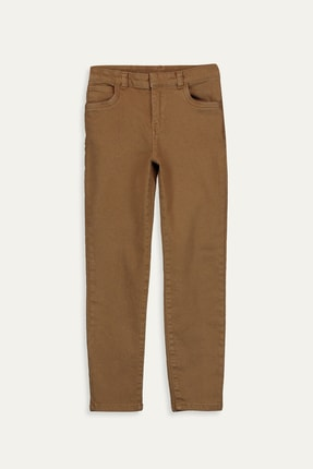 LC Waikiki Erkek Çocuk Hardal Sarı H8D Pantolon