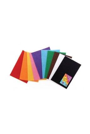 Puti Keçe Karışık Renk 10'lu 50x70 cm