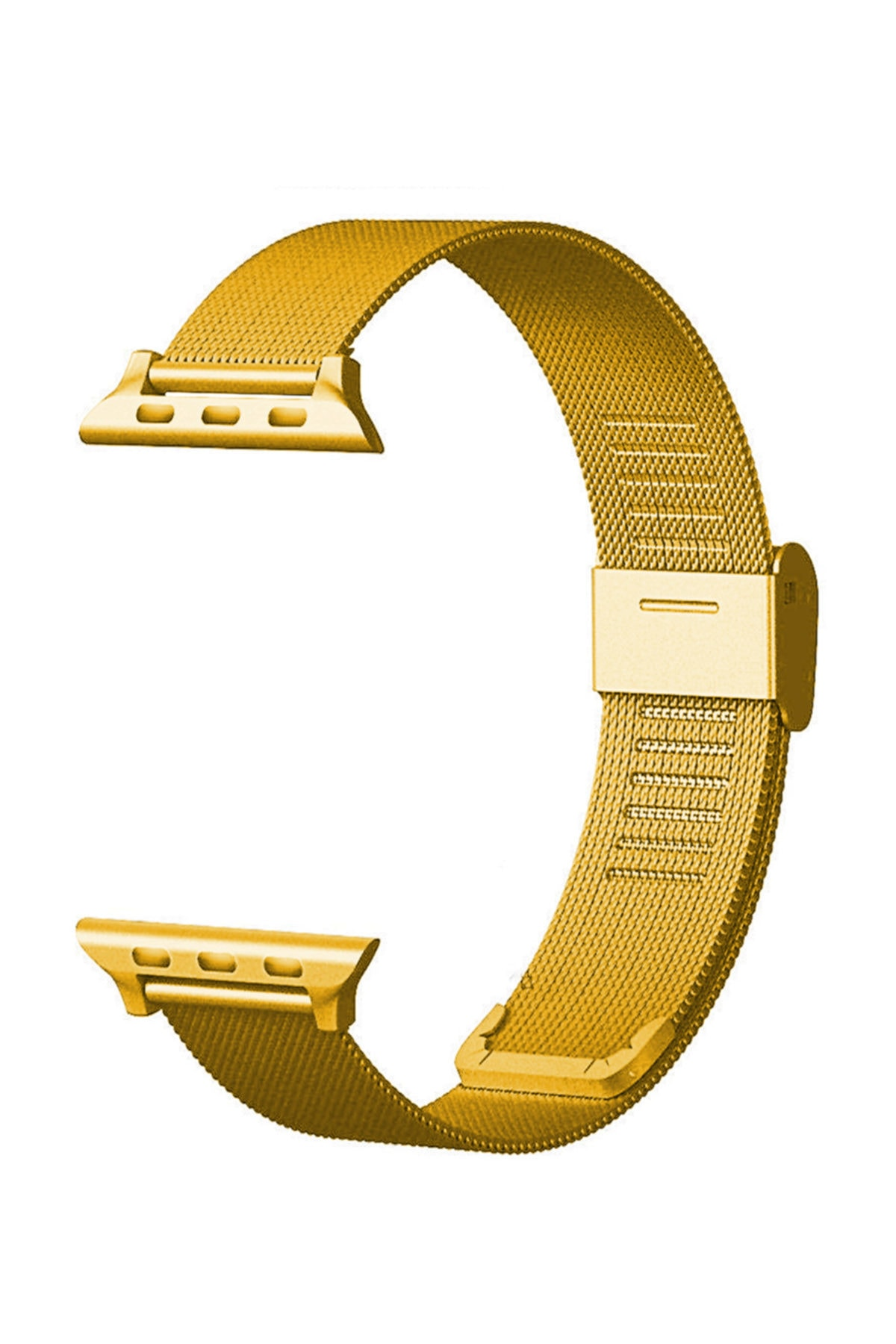 Microsonic Watch 2 42mm Milanese Loop Kordon Gold 1