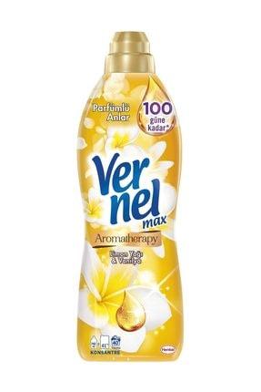 Vernel Max Limon Yağı ve Vanilya Yumuşatıcı 960 ml