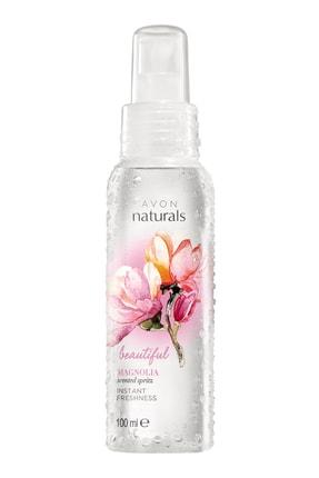 AVON Beautiful Magnolia Manolya Kokulu 100 ml Kadın Vücut Spreyi 8681298968047