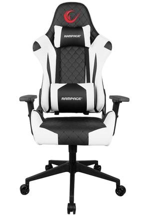 Rampage KL-R40 Throne Serisi Siyah/Beyaz Gaming Oyuncu Koltuğu