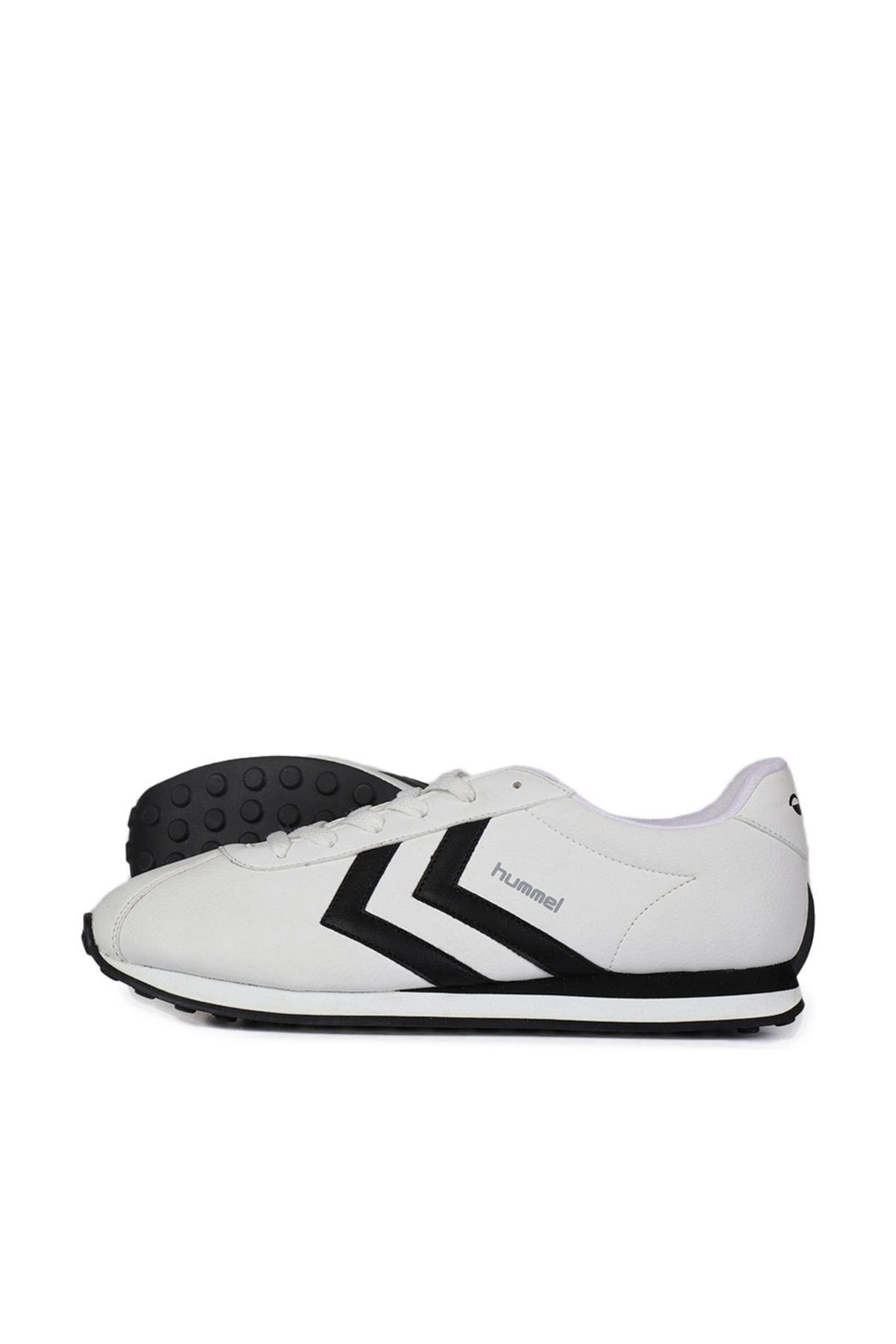 HUMMEL Unisex Beyaz Bağcıklı Koşu Antreman Ayakkabısı 1