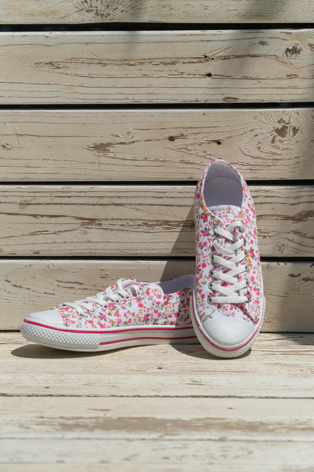 Ayakkabı Modası Fuşya Kadın Ayakkabı M9999-19-100165R 1