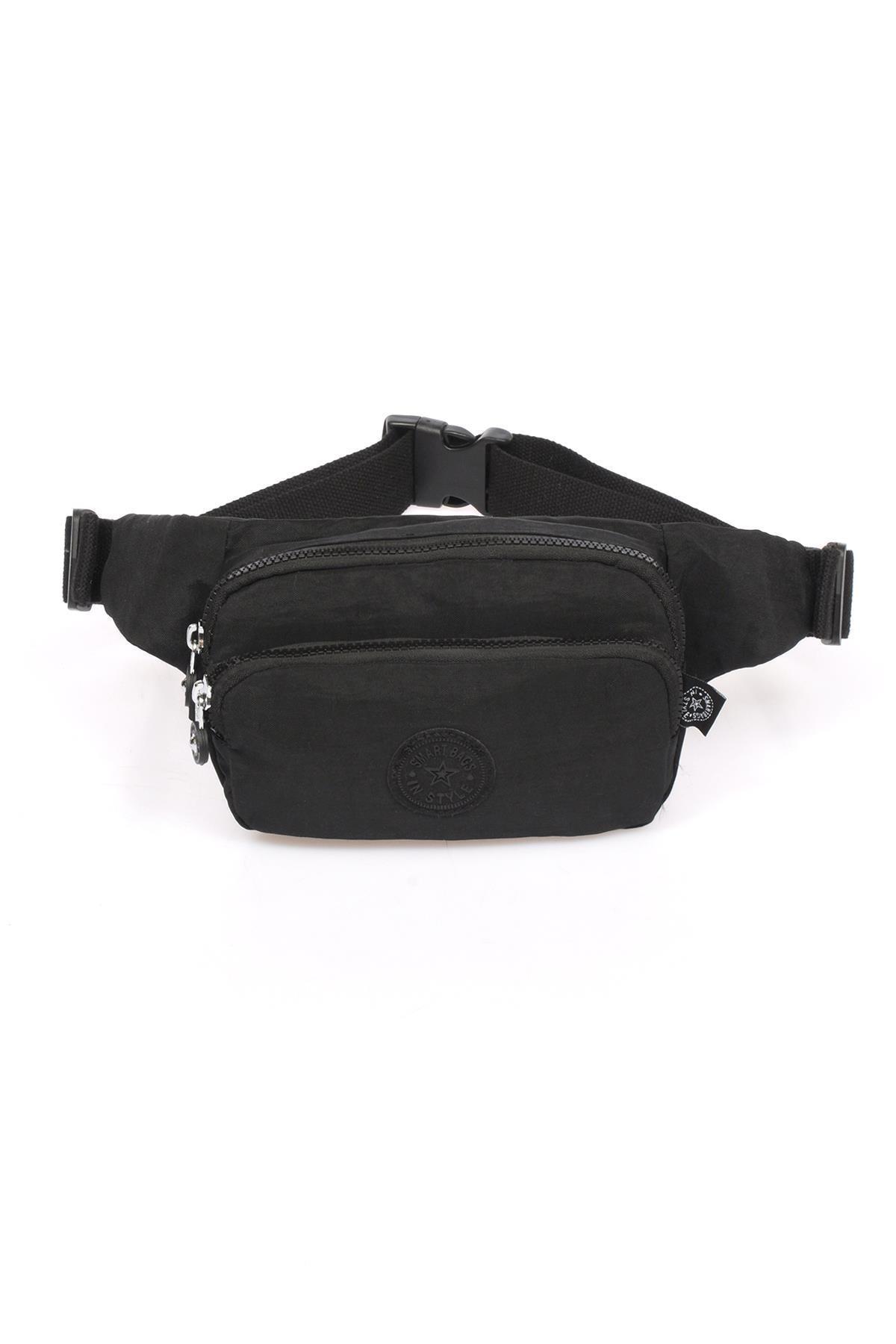 SMART BAGS Siyah Kadın   Bel Çantası Smb1154