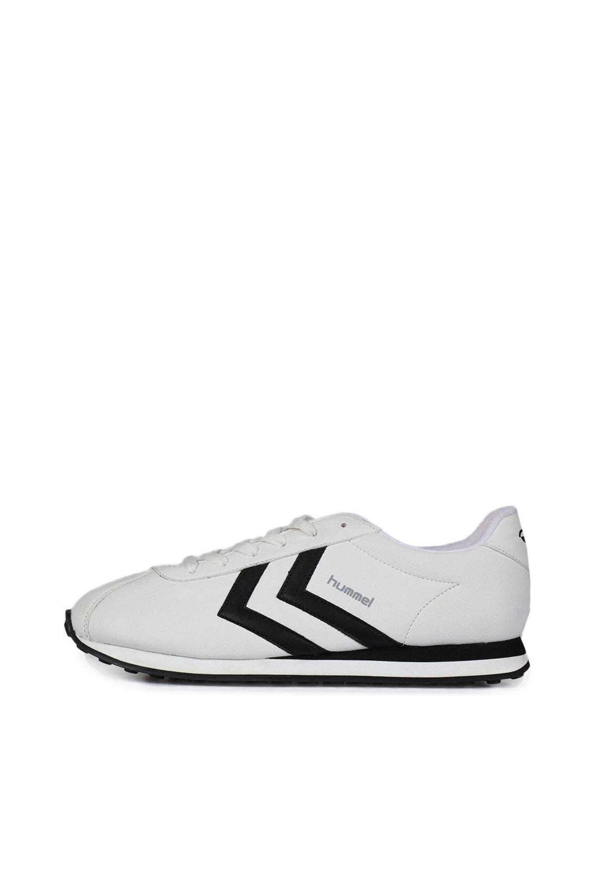 HUMMEL Unisex Beyaz Bağcıklı Koşu Antreman Ayakkabısı 2