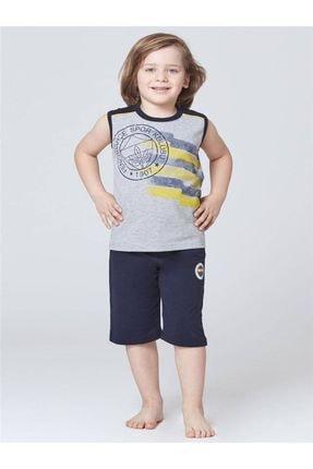 Fenerbahçe Lisanslı Baba Oğul Pijama Takımı -L6Ye64-Bo-1