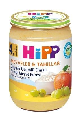Hipp Organik Üzümlü Elmalı Pirinçli Kavanoz Maması 190 gr