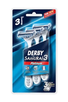 Derby Samurai Platınum 3 Blister 3'Lü