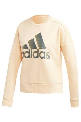 adidas Kadın Sweatshirt - W Id Glam Sweat - DZ8679