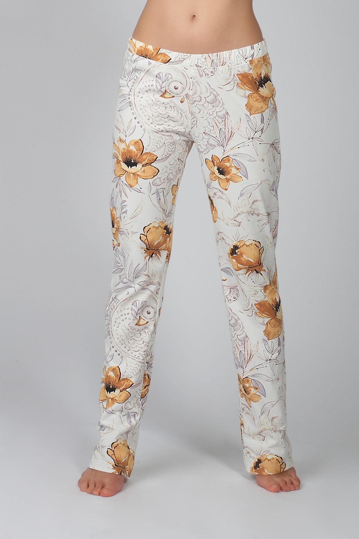 Hays Kadın Ekru Penye Pantolon 1
