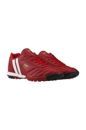Jump 134h-e Kırmızı Çim Halısaha Krampon Erkek Futbol Ayakkabı