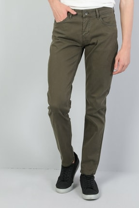 Colin's Straight Fit Orta Bel Düz Paça Erkek Haki Pantolon