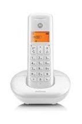Motorola E201 Dect Telsiz Telefon Beyaz