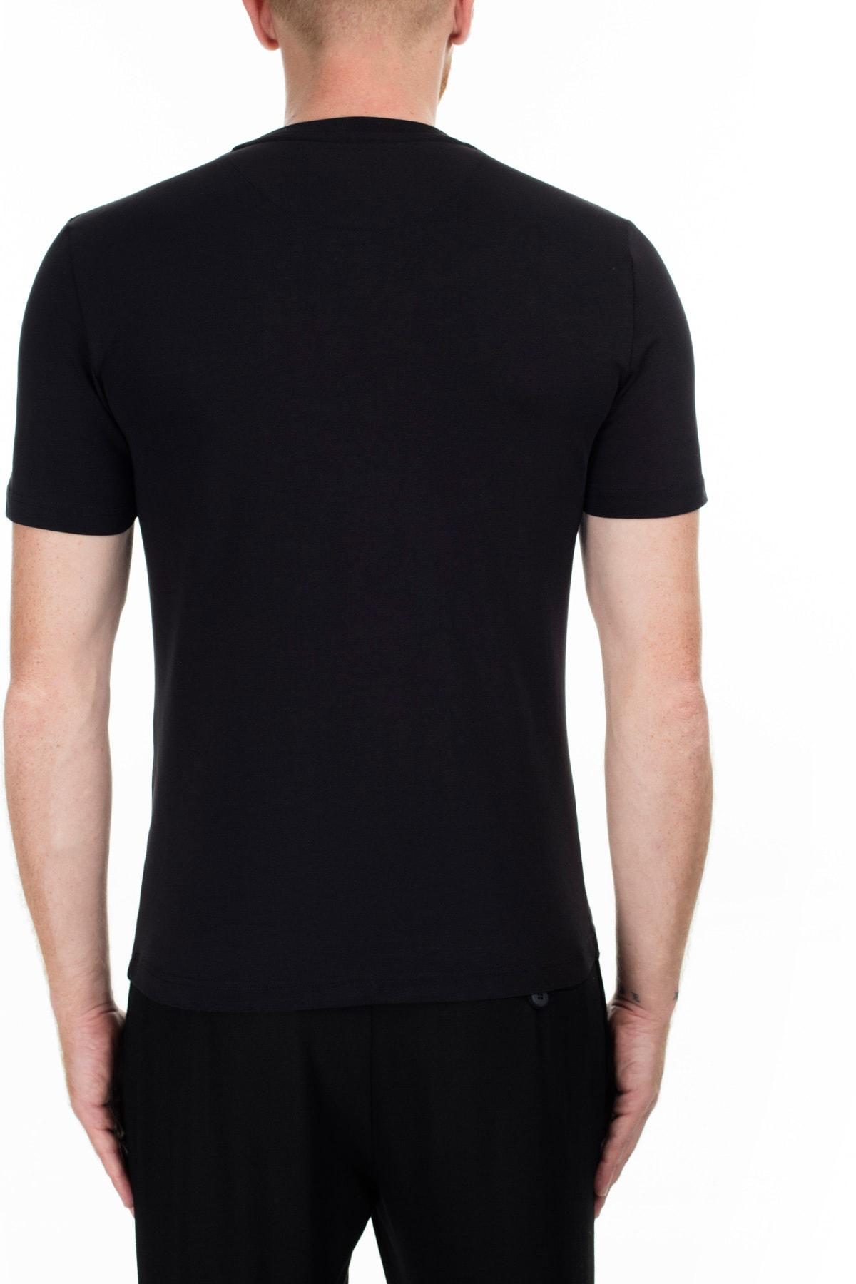 Love Moschino Erkek Siyah T-Shirt S M47312Ie1811 C74 2