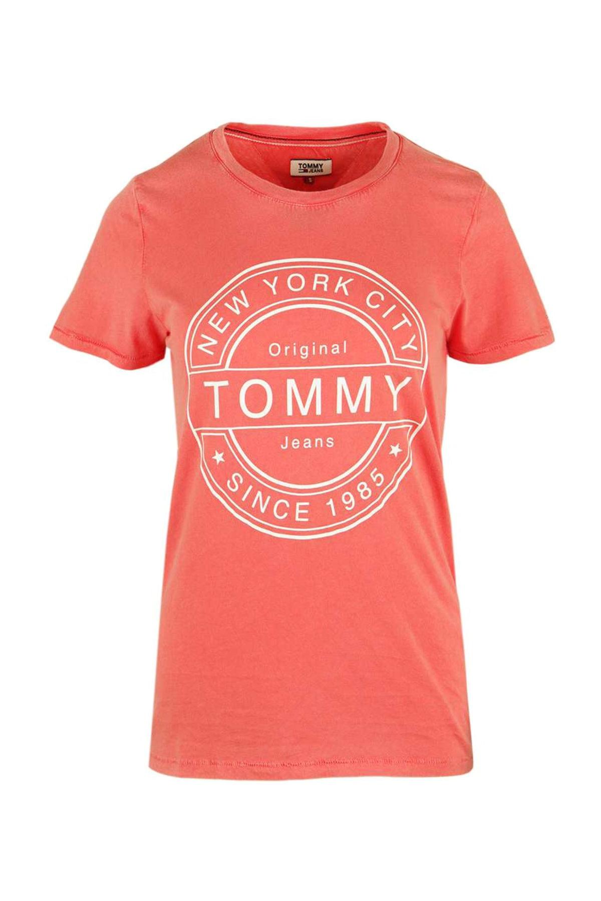 Tommy Hilfiger Kadın T-Shırt Dw0Dw03923-689 1