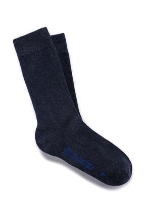 Birkenstock Cotton Sole Jean Mavi Erkek Çorap