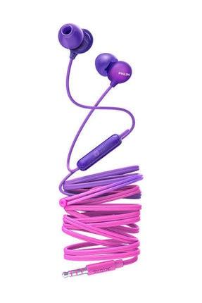 Philips SHE2405PP Mikrofonlu Kulak içi Kulaklık - Pembe/Mor