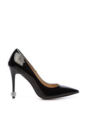KEMAL TANCA Siyah Kadın Vegan Stiletto Ayakkabı 22 6139 BN AYK Y19