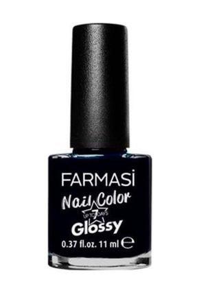 Farmasi 1304389 Glossy Klasik Siyah Oje 11 ml Black Art