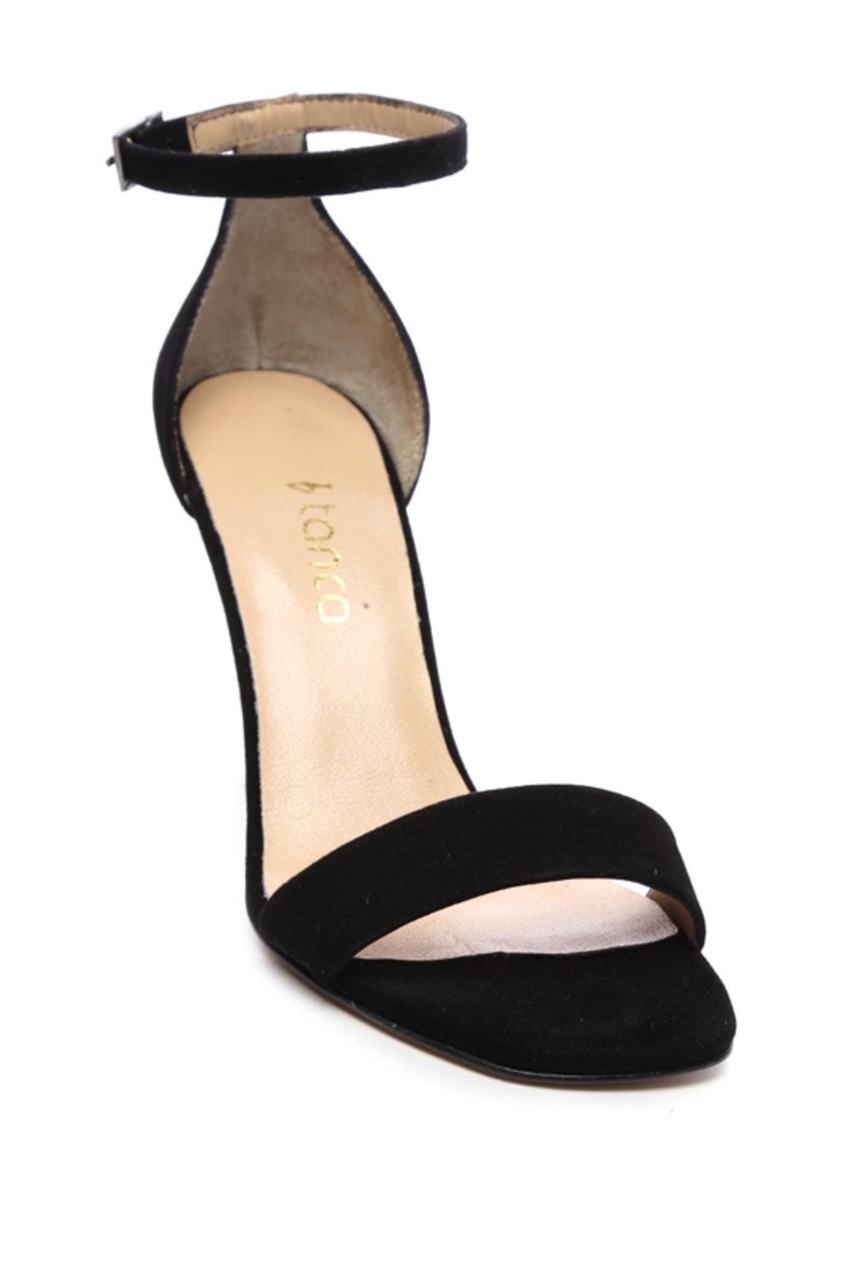 KEMAL TANCA Siyah Kadın Vegan Abiye Ayakkabı 22 6086 BN AYK Y19 2
