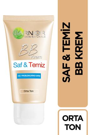 Garnier BB Krem - Saf & Temiz Orta Ton 50 ml