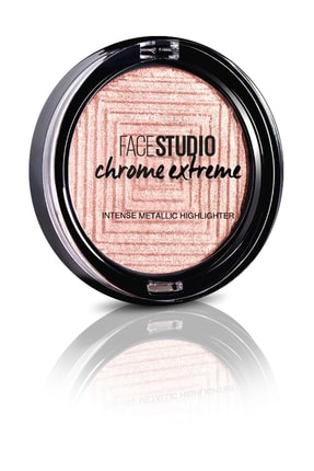 Maybelline New York Aydınlatıcı - Face Studio Chrome Extreme Highlighter 350 Molten Rose 3600531524197